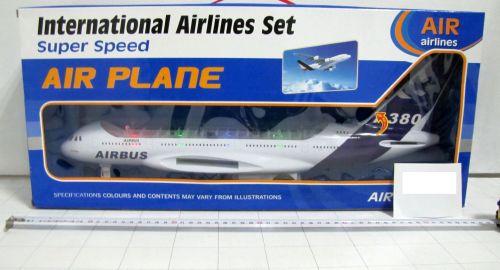 Самолет с батерии